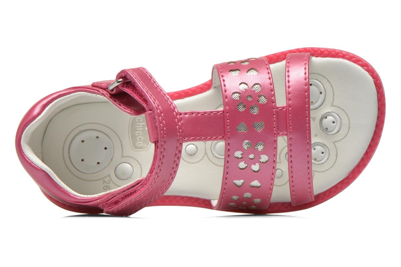 Sandales et nu-pieds Chicco Classy Rose vue gauche