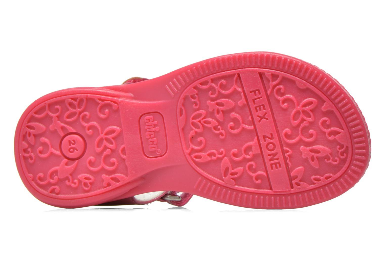 Sandales et nu-pieds Chicco Classy Rose vue haut