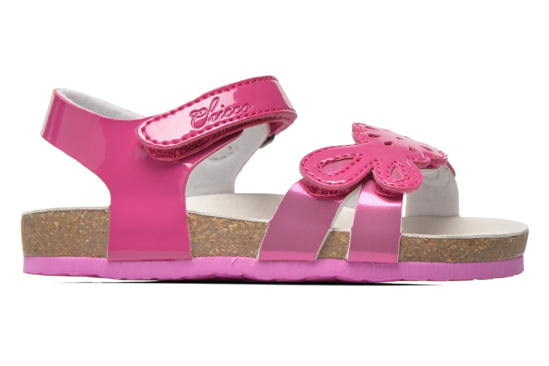 Sandales et nu-pieds Chicco Hamalia Rose vue derrière