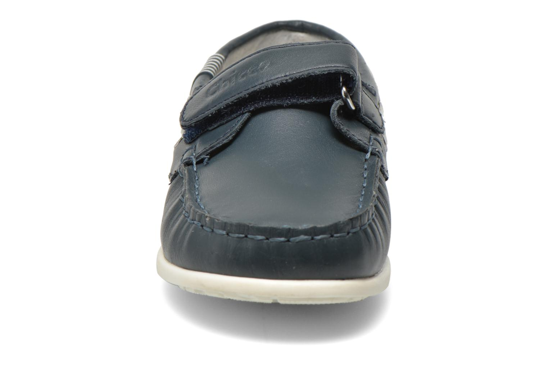 Mocassins Chicco Crem Bleu vue portées chaussures