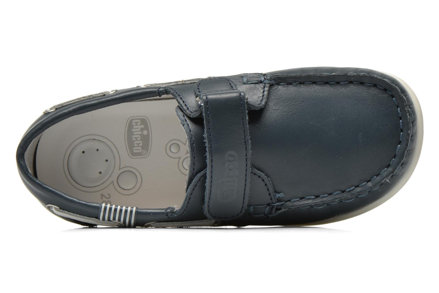 Loafers Chicco Crem Blue view from the left