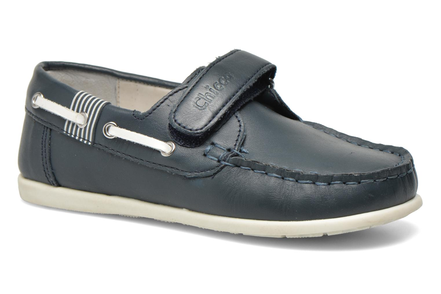 Loafers Chicco Crem Blue detailed view/ Pair view