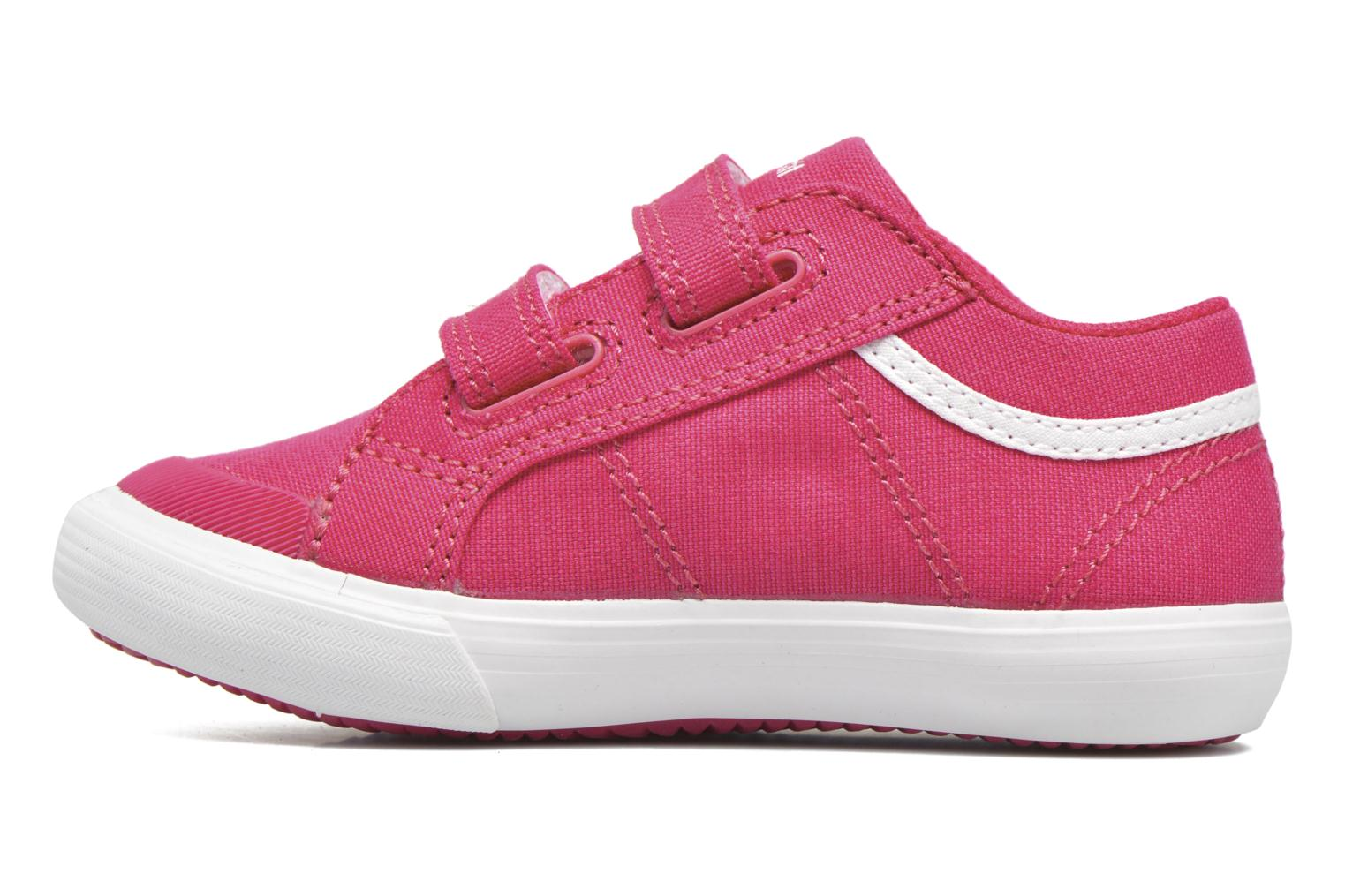 Trainers Le Coq Sportif Saint Gaetan Inf Pink front view