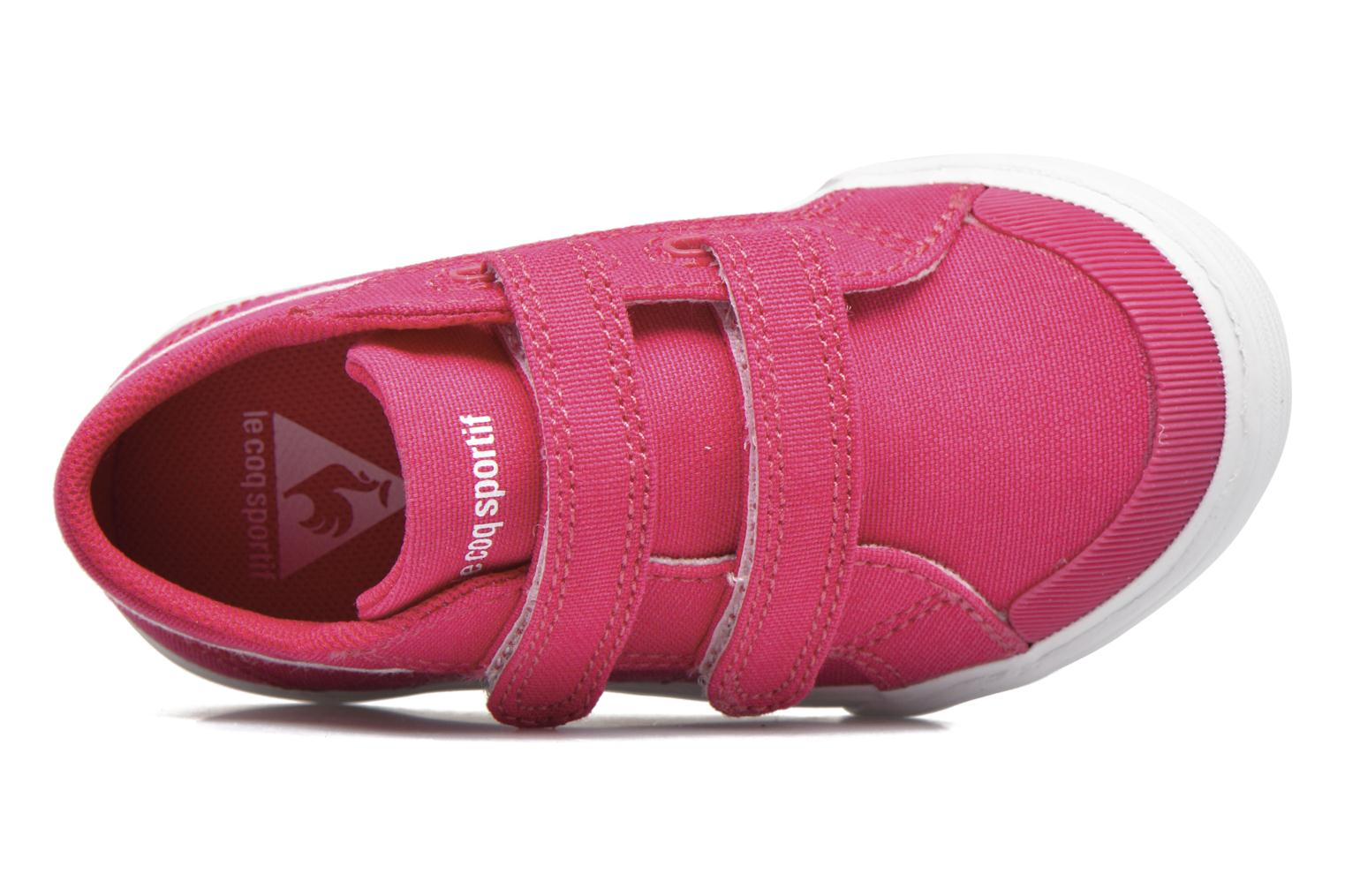 Trainers Le Coq Sportif Saint Gaetan Inf Pink view from the left