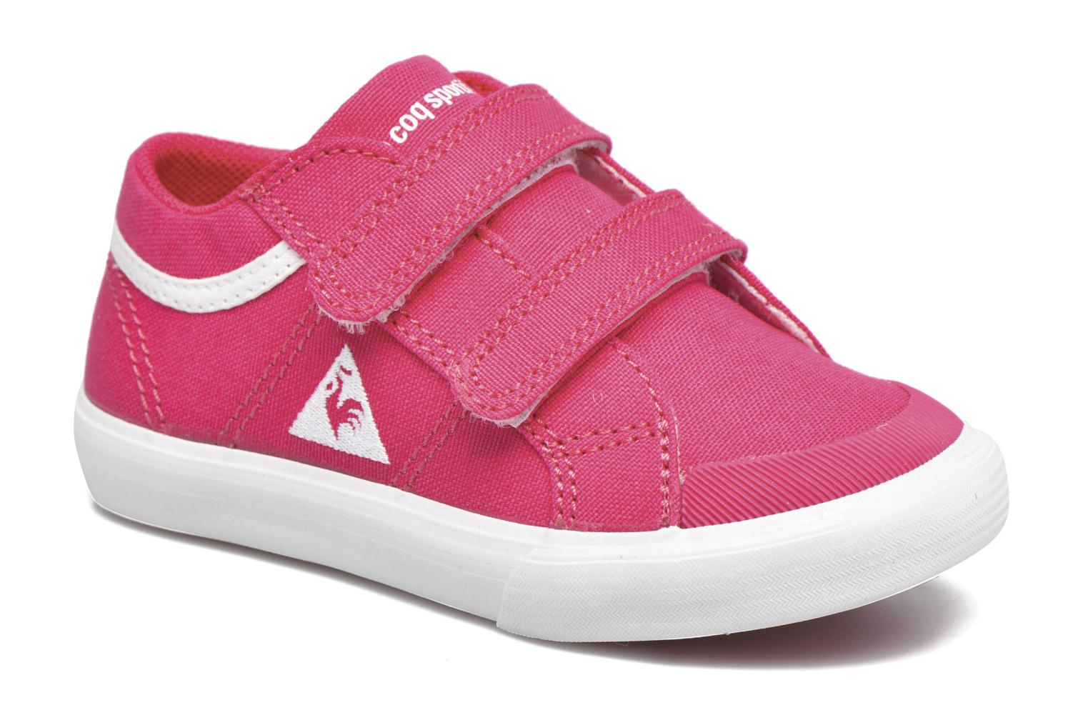 Trainers Le Coq Sportif Saint Gaetan Inf Pink detailed view/ Pair view