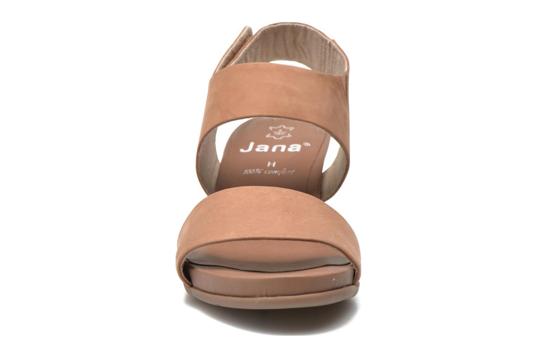 Sandales et nu-pieds Jana shoes Koga Marron vue portées chaussures