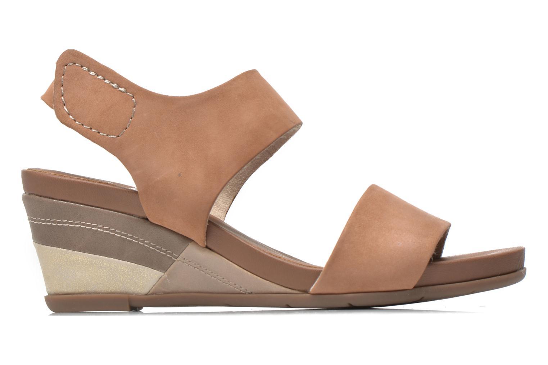 Sandales et nu-pieds Jana shoes Koga Marron vue derrière