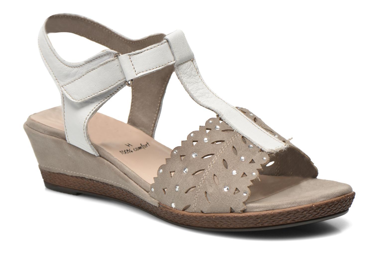 Sandales et nu-pieds Jana shoes Linka Gris vue détail/paire
