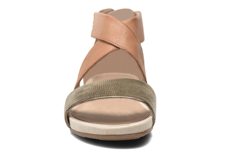 Sandales et nu-pieds Jana shoes Zena Marron vue portées chaussures
