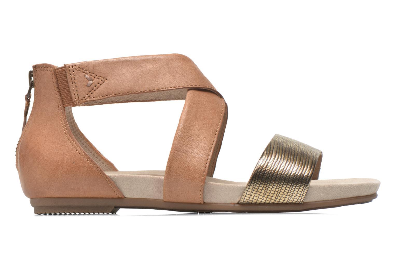 Sandales et nu-pieds Jana shoes Zena Marron vue derrière