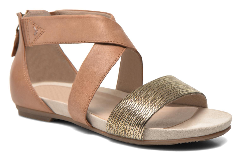 Sandales et nu-pieds Jana shoes Zena Marron vue détail/paire