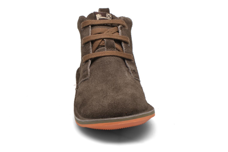 Chaussures à lacets Camper Beetle Street Kids Marron vue portées chaussures