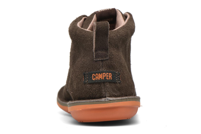 Chaussures à lacets Camper Beetle Street Kids Marron vue droite