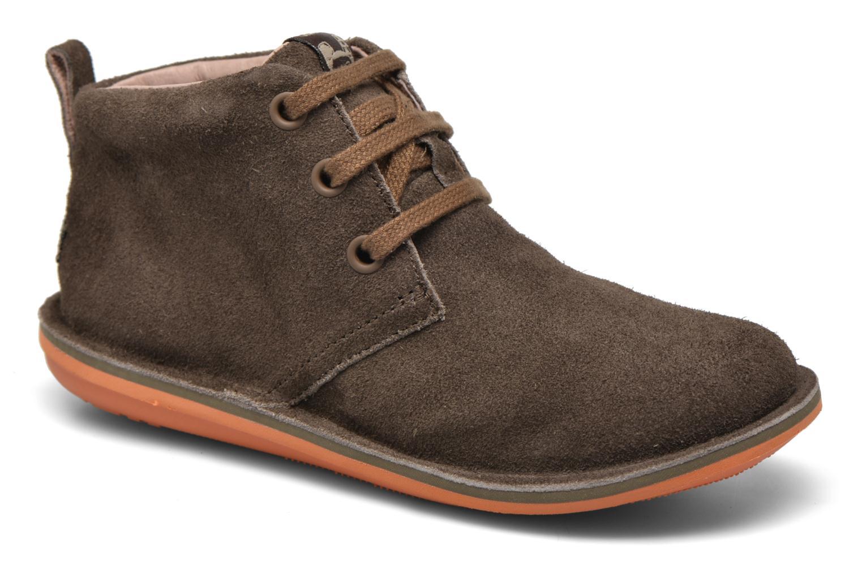 Chaussures à lacets Camper Beetle Street Kids Marron vue détail/paire