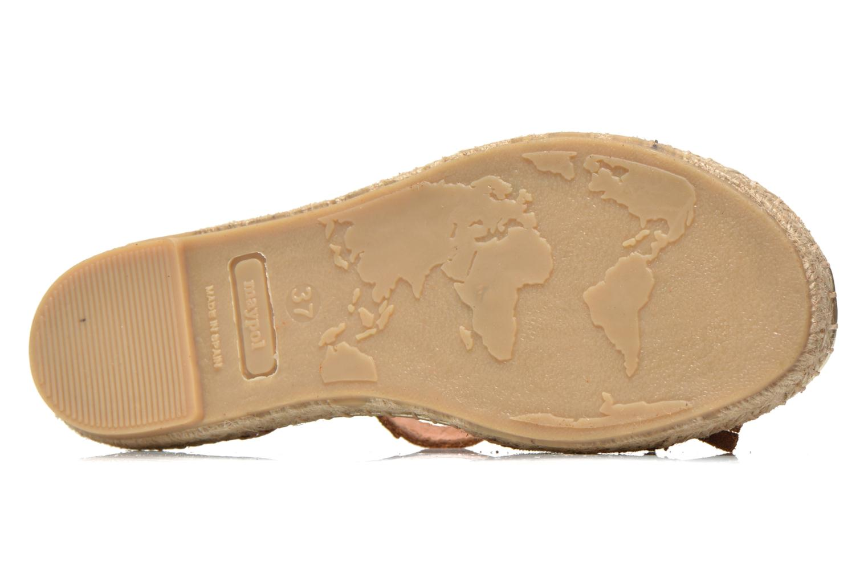 Sandales et nu-pieds Maypol Mohica Marron vue haut