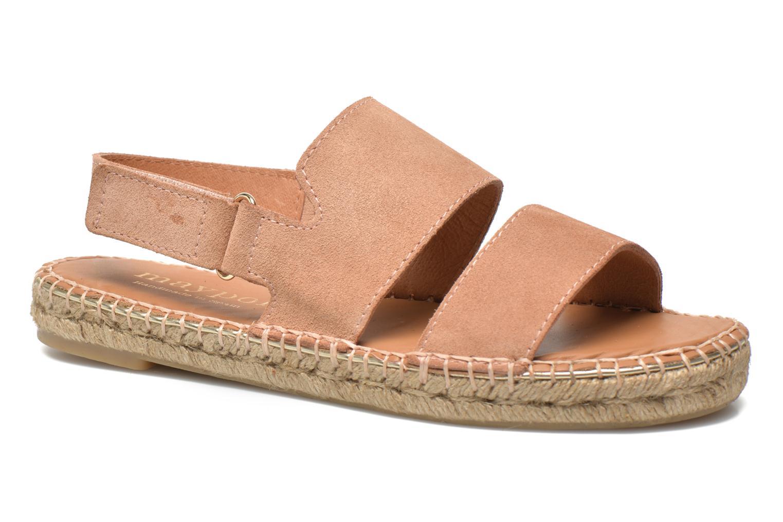 Sandales et nu-pieds Maypol Moss Beige vue détail/paire