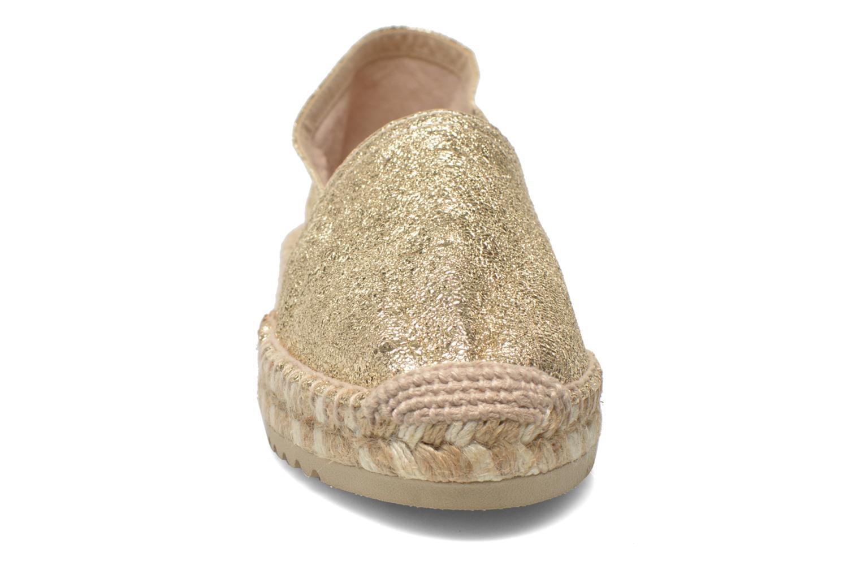 Espadrillos Maypol Samba Guld og bronze se skoene på