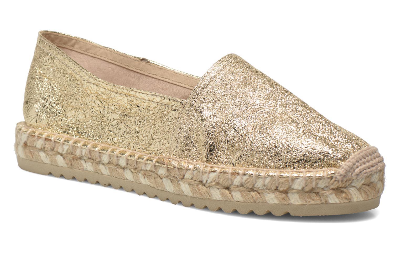 Espadrillos Maypol Samba Guld og bronze detaljeret billede af skoene