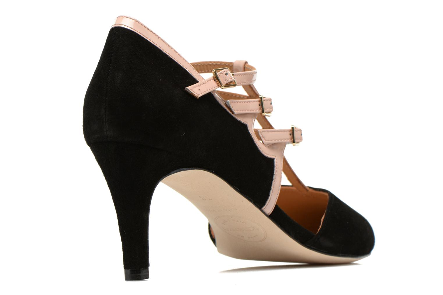 Pumps Made by SARENZA Loulou au Luco #4 Zwart voorkant