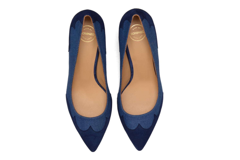 Escarpins Made by SARENZA Western Fever #2 Bleu vue portées chaussures
