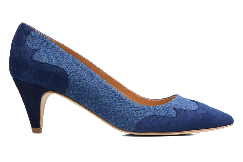 Escarpins Made by SARENZA Western Fever #2 Bleu vue détail/paire