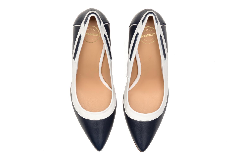 Escarpins Made by SARENZA Glaçons citrons #2 Bleu vue portées chaussures