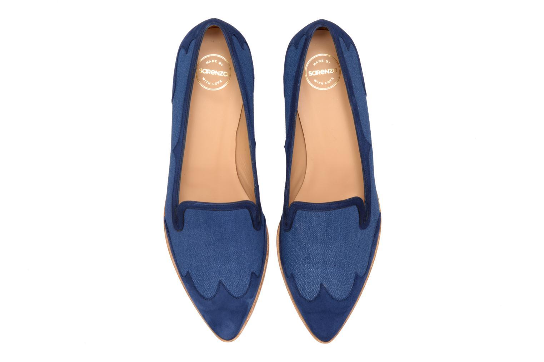 Mocassins Made by SARENZA Seven Tease #1 Bleu vue portées chaussures