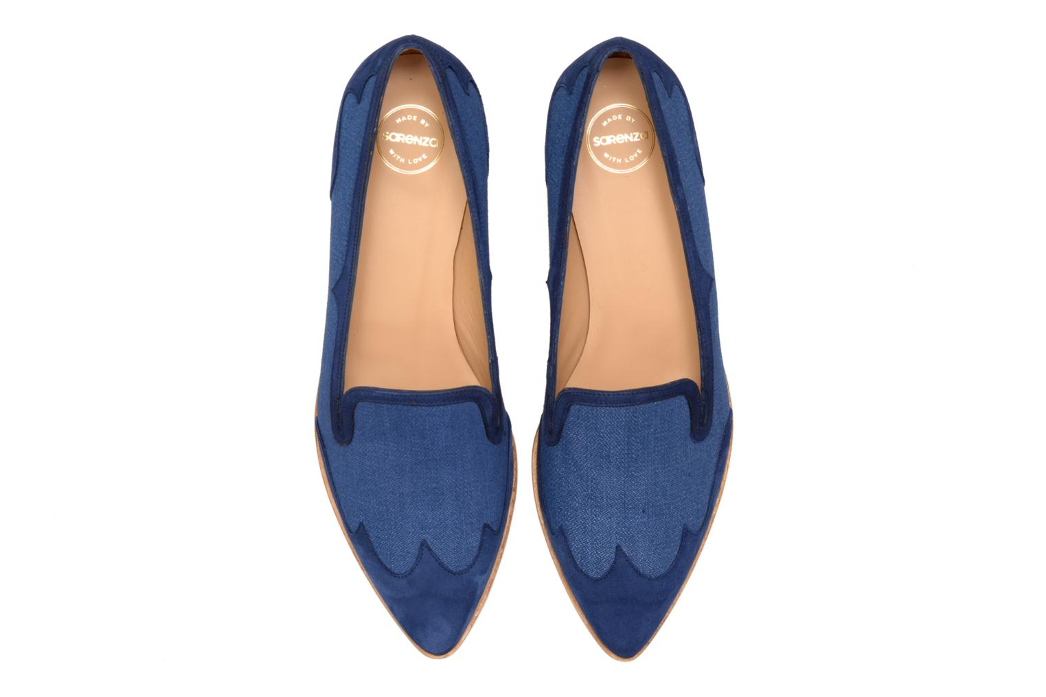 Loafers Made by SARENZA Seven Tease #1 Blue model view