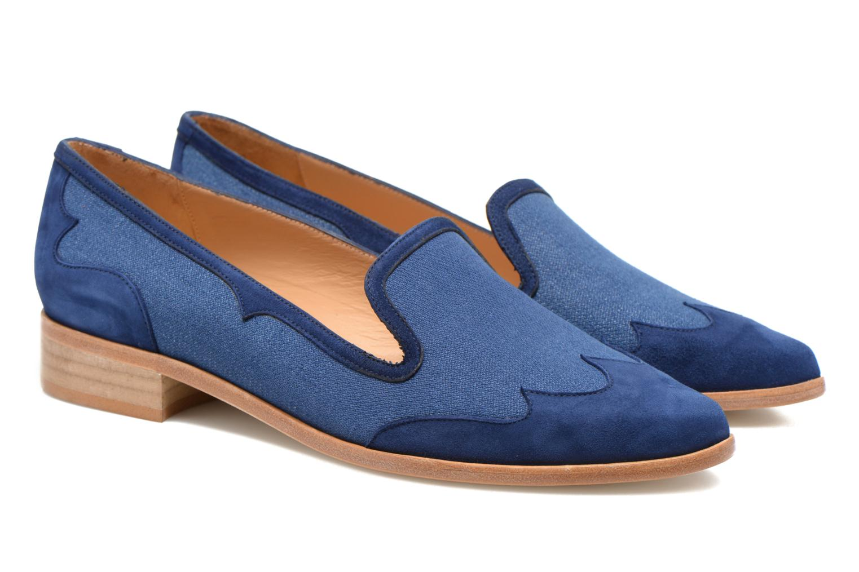 Mocassins Made by SARENZA Seven Tease #1 Bleu vue derrière