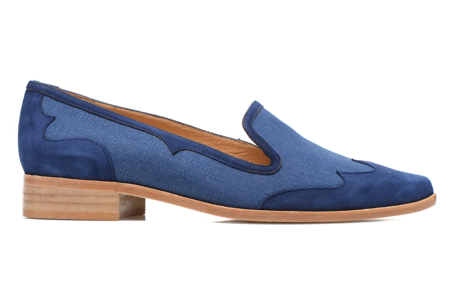 Loafers Made by SARENZA Seven Tease #1 Blue detailed view/ Pair view