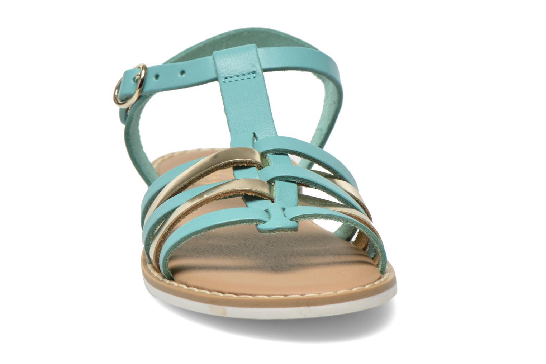 Sandales et nu-pieds I Love Shoes Dobrides Bleu vue portées chaussures