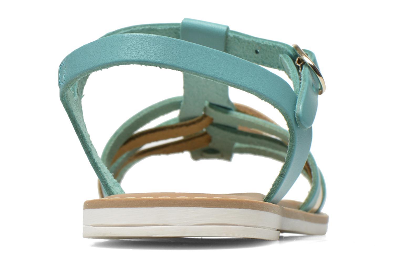 Sandales et nu-pieds I Love Shoes Dobrides Bleu vue droite