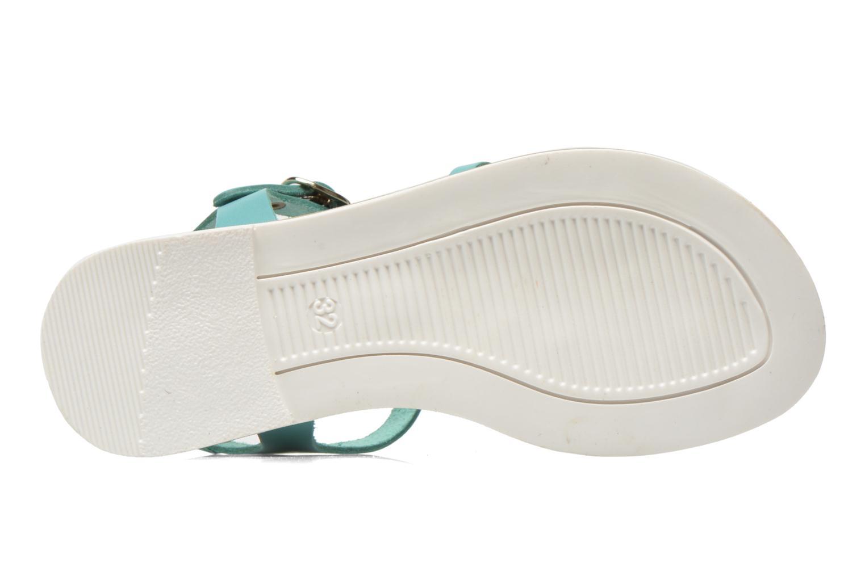 Sandales et nu-pieds I Love Shoes Dobrides Bleu vue haut