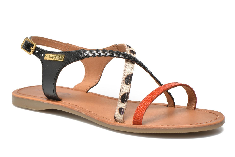 Sandales et nu-pieds Les Tropéziennes par M Belarbi Horse Noir vue détail/paire