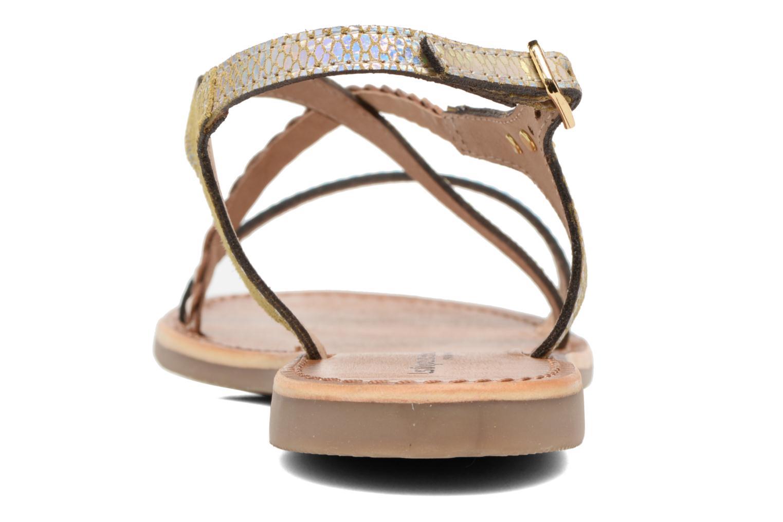 Sandals Les Tropéziennes par M Belarbi Horse Silver view from the right