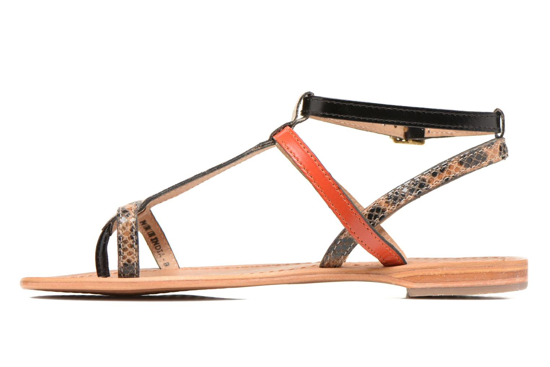 Sandales et nu-pieds Les Tropéziennes par M Belarbi Baie Multicolore vue face