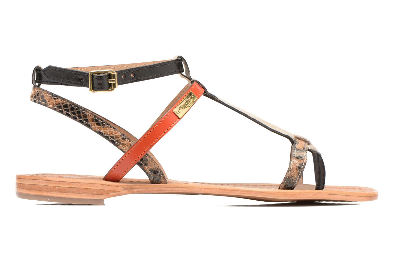 Sandales et nu-pieds Les Tropéziennes par M Belarbi Baie Multicolore vue derrière