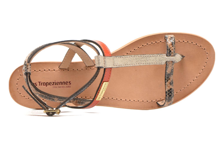 Sandales et nu-pieds Les Tropéziennes par M Belarbi Baie Multicolore vue gauche