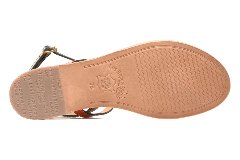 Sandales et nu-pieds Les Tropéziennes par M Belarbi Baie Multicolore vue haut