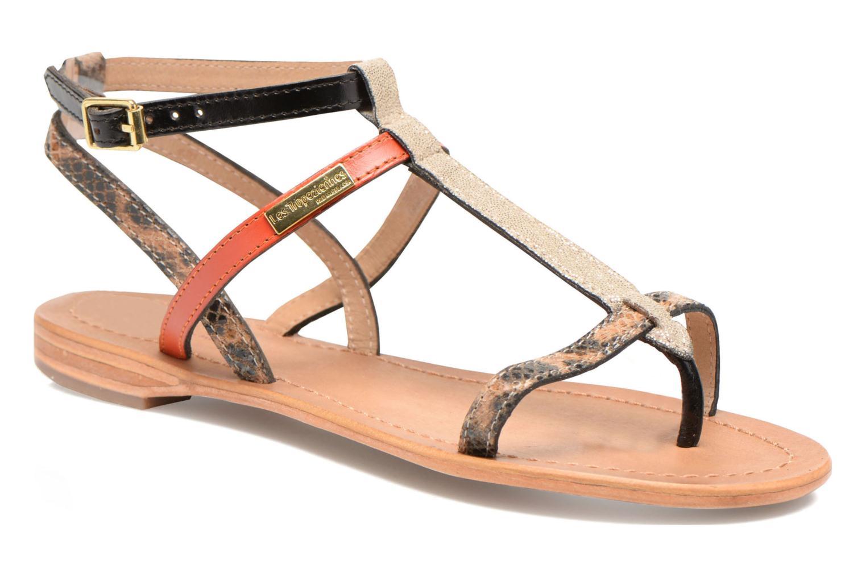 Sandales et nu-pieds Les Tropéziennes par M Belarbi Baie Multicolore vue détail/paire