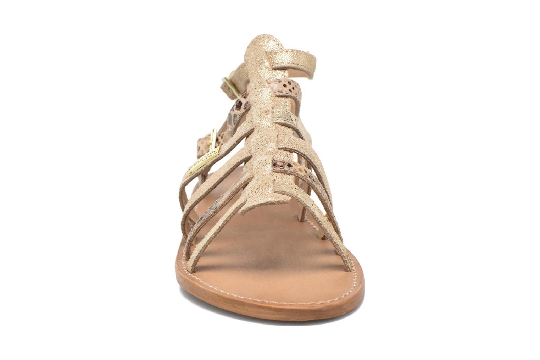 Sandalen Les Tropéziennes par M Belarbi Baille gold/bronze schuhe getragen