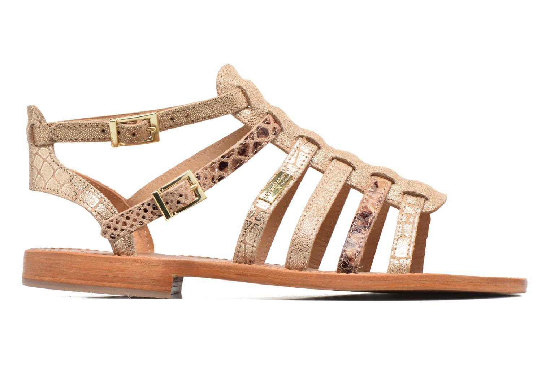 Sandalias Les Tropéziennes par M Belarbi Baille Oro y bronce vistra trasera
