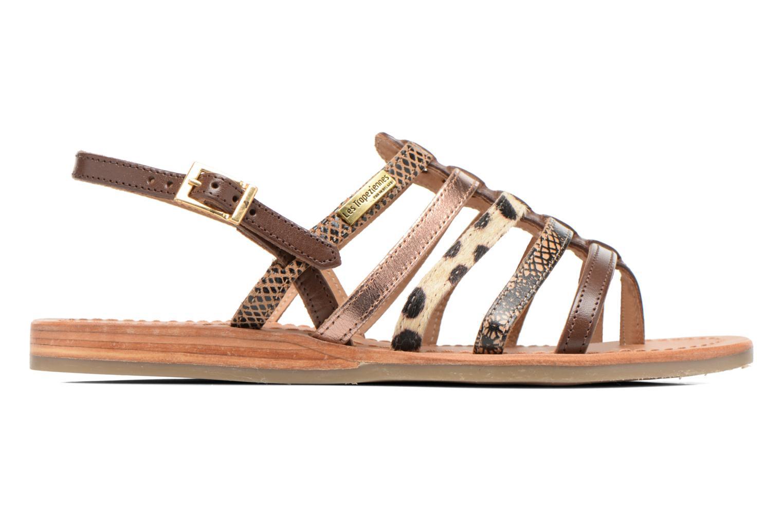 Sandales et nu-pieds Les Tropéziennes par M Belarbi Belinda Marron vue derrière