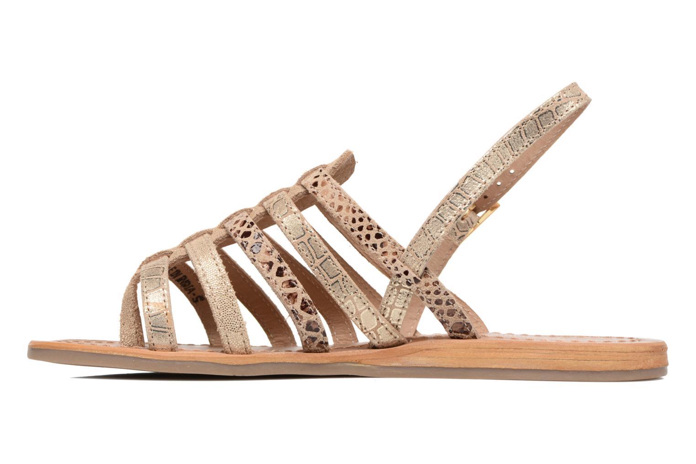Sandali e scarpe aperte Les Tropéziennes par M Belarbi Belinda Oro e bronzo immagine frontale
