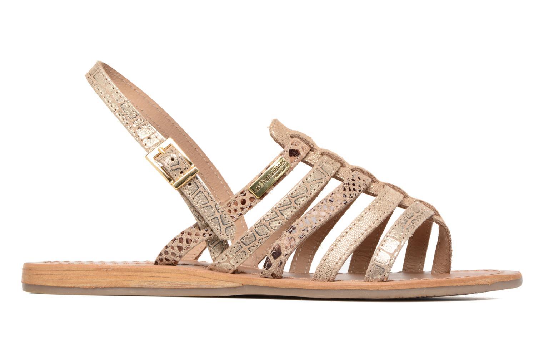 Sandales et nu-pieds Les Tropéziennes par M Belarbi Belinda Or et bronze vue derrière