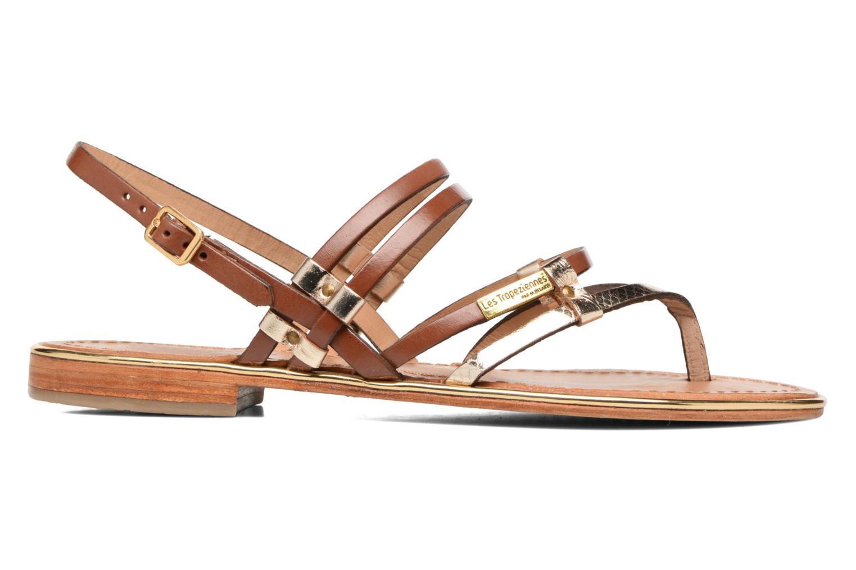 Sandales et nu-pieds Les Tropéziennes par M Belarbi Cumin Marron vue derrière