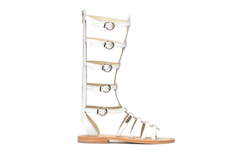 Sandales et nu-pieds Les Tropéziennes par M Belarbi Nay Blanc vue derrière