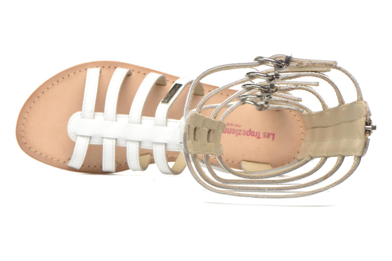 Sandales et nu-pieds Les Tropéziennes par M Belarbi Nay Blanc vue gauche