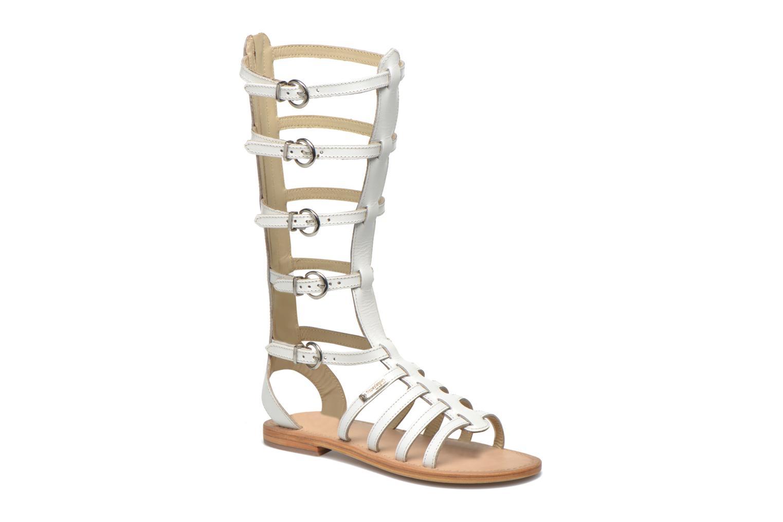 Sandales et nu-pieds Les Tropéziennes par M Belarbi Nay Blanc vue détail/paire