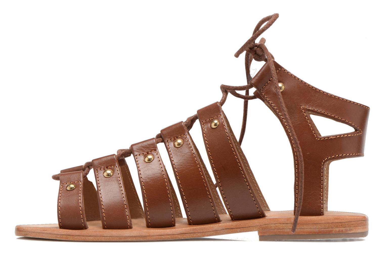 Sandals Les Tropéziennes par M Belarbi Marilyn Brown front view